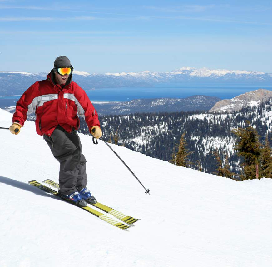 bigstock-Skier-On-A-Slope-157655